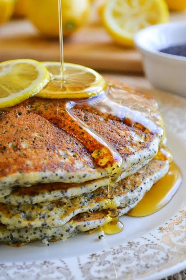 Lemon-Poppy Pancakes